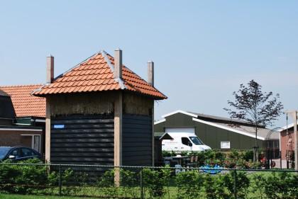 Nieuwbouw hooiberg Lunteren